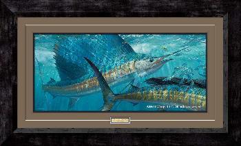 Mark Susinno Batting Cleanup - Sailfish Framed