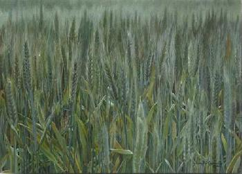 Liz Lemon Swindle Wheat and the Tares Giclee on Canvas