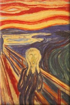 Edvard Munch The Scream Magnetic Art