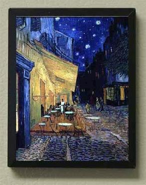 Vincent Van Gogh Caf� Terrace Magnetic Art