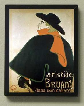 Toulouse Lautrec Aristide Bruant Magnetic Art