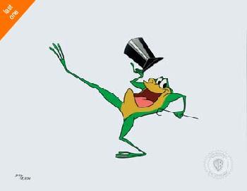 Warner Brothers Michigan J. Frog Sericel - Last Ones!