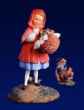 Scott Gustafson Little Red Riding Hood Fine Art Porcelain Figurine