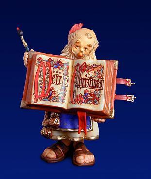 Scott Gustafson Brother Folio Scrivner Fine Art Porcelain Figurine