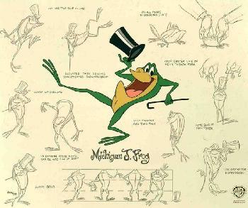 Warner Brothers Michigan J Frog Model Sheet