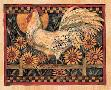 Susan Winget Rooster With Sunflowers