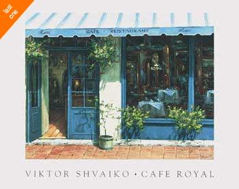 Viktor Shvaiko Cafe Royal   LAST ONES IN INVENTORY!!
