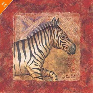 Terri Cook Zebra Safari   LAST ONES IN INVENTORY!!