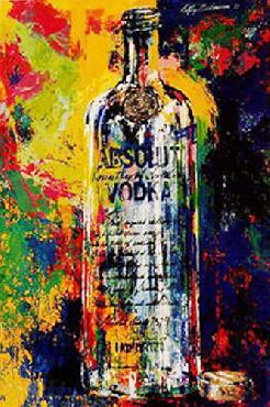 LeRoy Neiman Absolut Vodka Open Edition on Paper