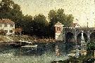 Thomas Kinkade Afternoon at Argenteuil