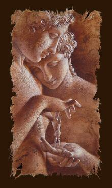 Lee Bogle Afternoon at the Louvre Giclee on Paper