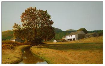 Peter Sculthorpe After The Harvest Giclee on Paper