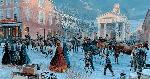 Mort Kunstler After the Snow