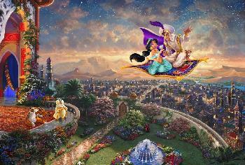 Thomas Kinkade Aladdin SN Paper