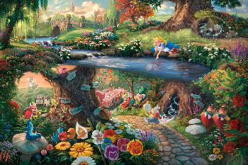 Thomas Kinkade Alice in Wonderland Publisher