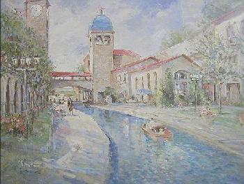 L. Gordon Along the Canal