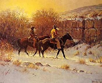 G. Harvey Along the Canyon Wall