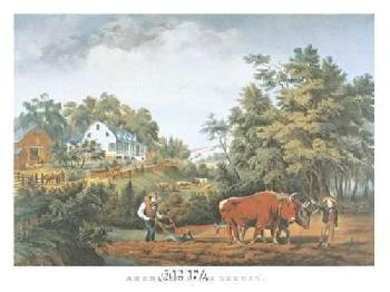 Currier and Ives American Farm Scenes