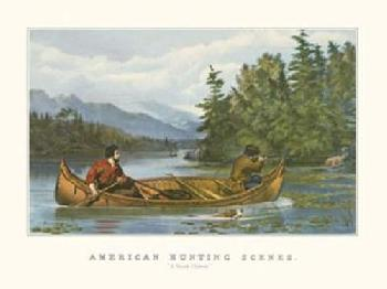 Currier and Ives American Hunting Scenes