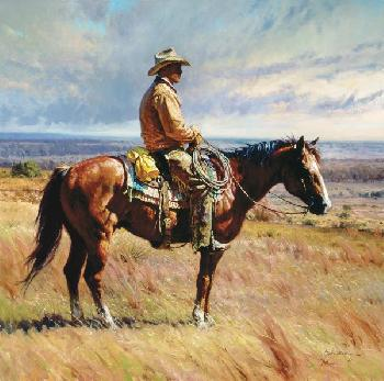 Martin Grelle An American Icon Open Edition Giclee on Canvas