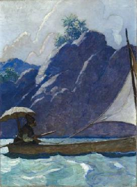 Newell Convers Wyeth And thus I every now and then Open Edition Giclee on Canvas