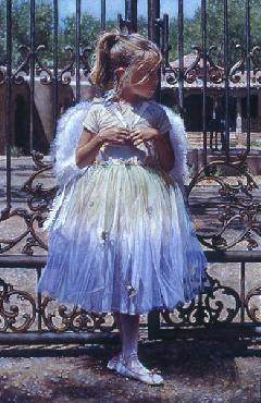 Steve Hanks Angel at the Gate