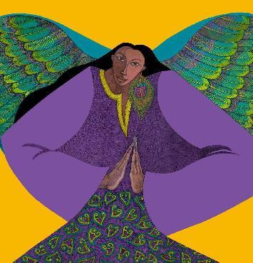Charles Bibbs Angel of Golden Light Artist