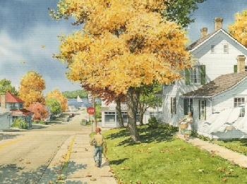 Charles Peterson Another Monday at Fish Creek Giclee on Watercolor Paper