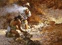 Howard Terpning Apache Fire Makers