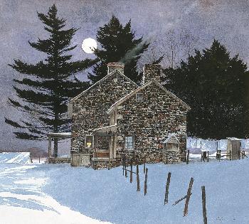 Peter Sculthorpe Apple Grove Moon Artist