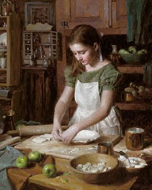 Morgan Weistling Apple Pie Giclee on Canvas