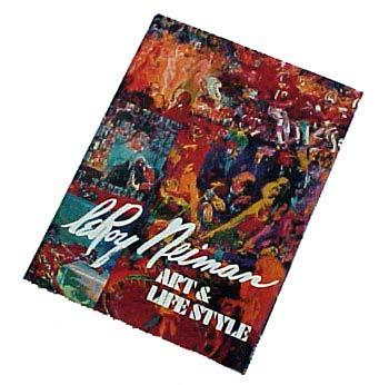 LeRoy Neiman Art and Lifestyle Autographed Hardcover Book