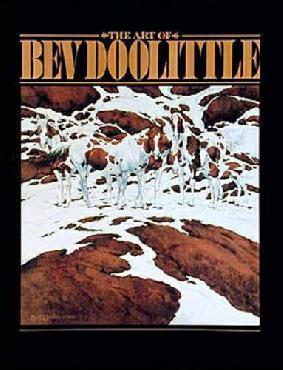 Bev Doolittle Art of Bev Doolittle Signed Hardcover Book