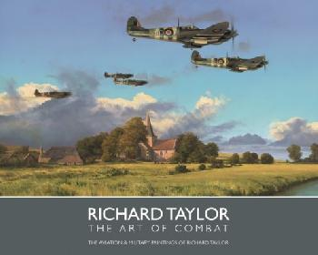 Richard Taylor The Art Of Combat REGULAR UNSIGNED AND UNLIMITED BOOK