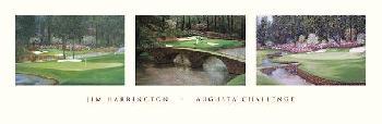 Jim Harrington Augusta Challenge triptych