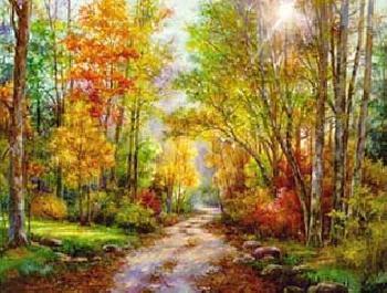 Lena Liu Autumn Glory Canvas