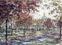 Susan Amidon Autumn on Laurel Avenue