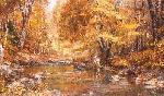 Robert Abbett Autumn Pools