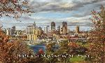 Susan Amidon Autumn Skyline of St. Paul