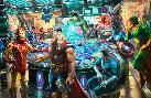 Thomas Kinkade Avengers