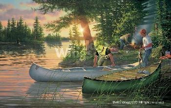 Michael Sieve Backcountry - Canoe In Artist