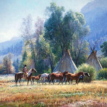Martin Grelle Back from the River Open Edition on Paper