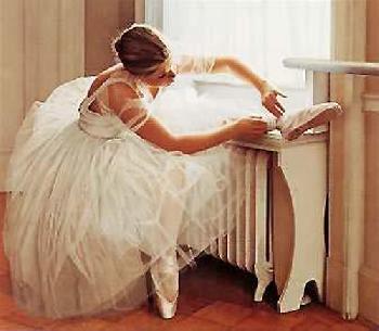 Douglas Hofmann The Ballerina Hand Pulled Lithograph