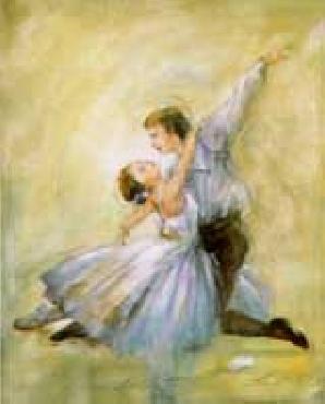 Lena Liu Ballet Canvas