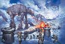 Thomas Kinkade Battle of Hoth - Star Wars
