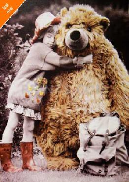 Kim Anderson Bear Hug NO LONGER IN PRINT - LAST ONES!!