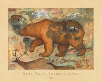 Monte Dolack Bears of the World Signed Open Edition