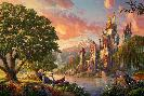 Thomas Kinkade Beauty and the Beast II
