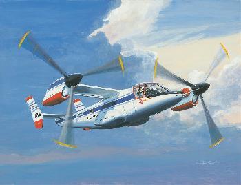 K. Price Randel Bell XV-15 Canvas