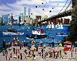 Jane Wooster Scott Beneath the Brooklyn Bridge